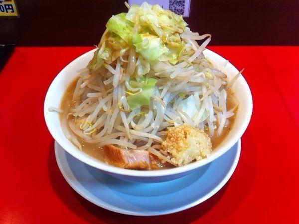 「ラーメン 野菜、ニンニク」@用心棒の写真