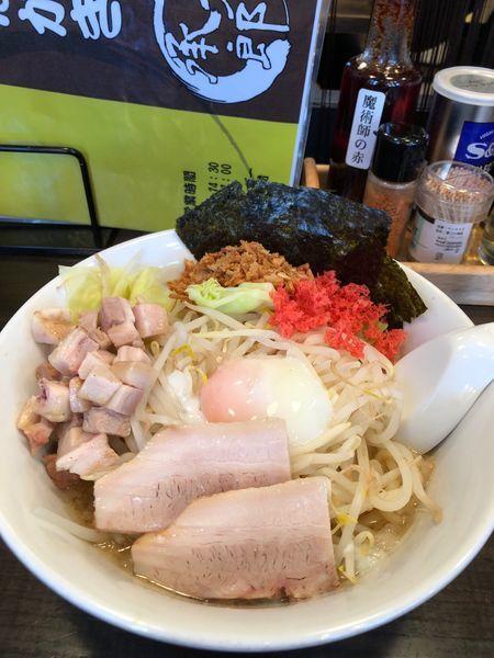 「承太郎 汁なし」@麺屋 承太郎の写真