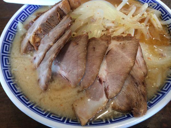 「上越味噌チャーシュー¥980」@niるい斗の写真