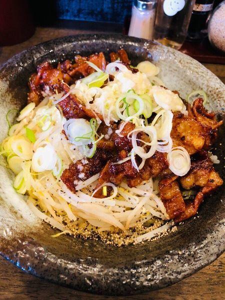 「ホルモンまぜそば」@麺屋 GOO ~noodle house~の写真