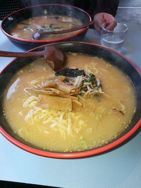「味噌ラーメン」@札幌ラーメン サロマの写真