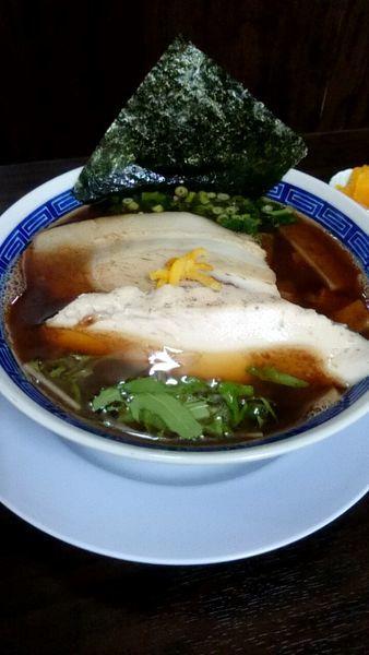 「魚介醤油(760円)」@丸直の写真