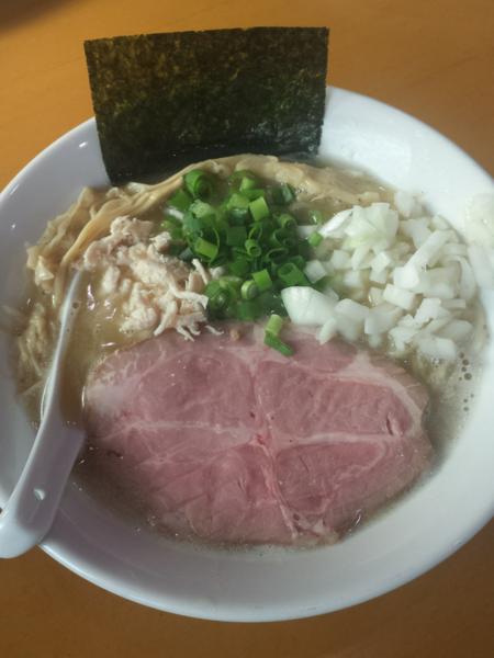 「濃厚塩ラーメン750円」@麺屋 扇 SENの写真