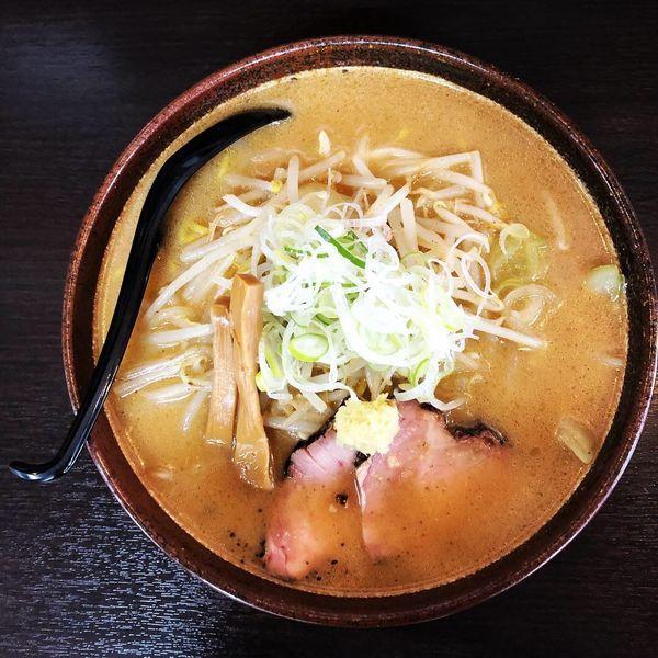 「炙り味噌ラーメン(大盛り)」@麺匠 真武咲弥 松本店の写真