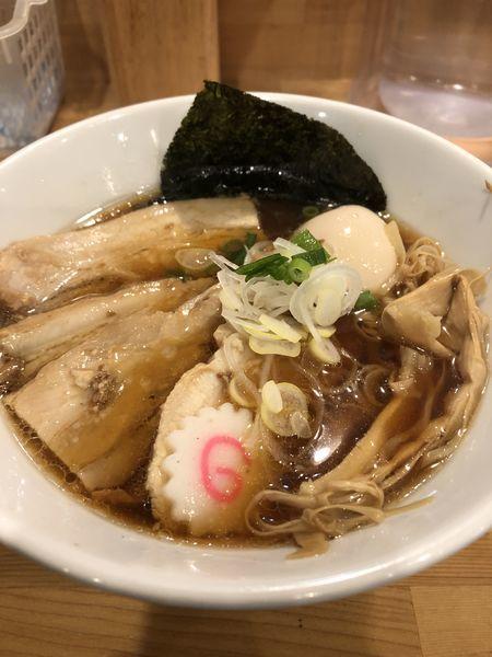 「特製純鶏そば」@麺屋 継の写真