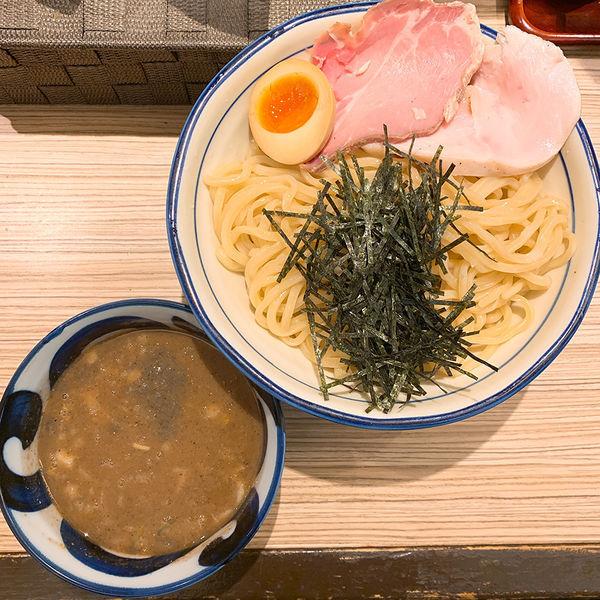 「濃厚豚骨魚介つけ麺(中盛)」@麺屋 宮本の写真