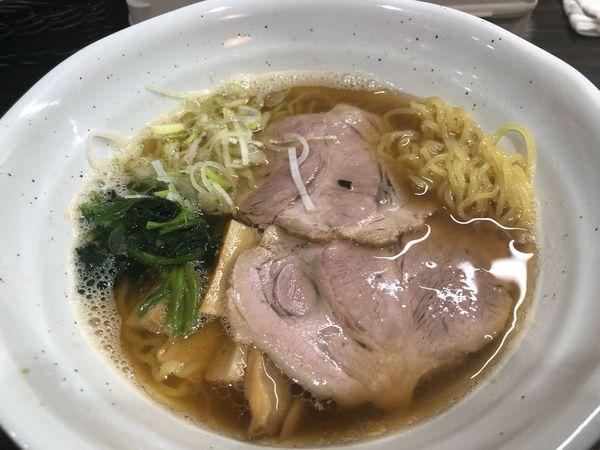 「醤油ラーメン700円」@麺屋 のらくまの写真