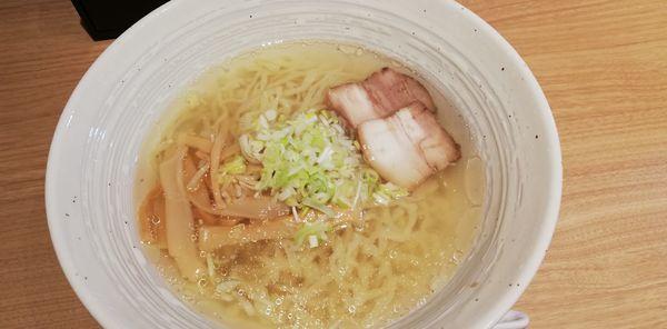 「塩ラーメン」@地鶏と会津蕎麦 七日町亭の写真