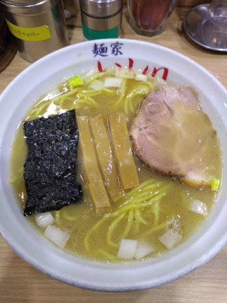 「らー麺 730円」@麺家 いし川の写真