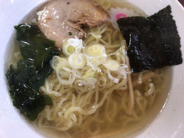 「山塩ラーメン730円」@お食事処 水峰の写真