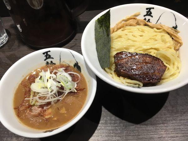 「黒角煮つけ麺」@麺屋武蔵 五輪洞の写真