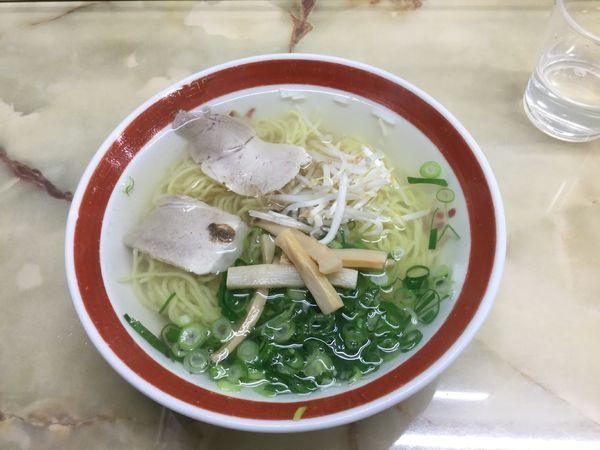 「ラーメン(¥600)」@新生軒の写真