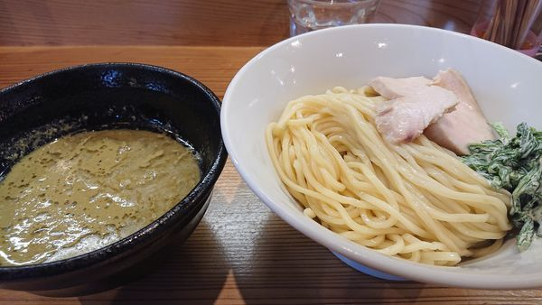 「限定  牡蠣つけ麺」@らーめん いつ樹 本店の写真
