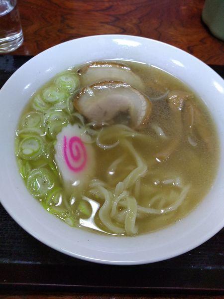 「佐野ラーメン 650円」@居酒屋 若大将の写真