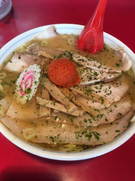 「辛みそチャーシュー麺」@龍上海 米沢店の写真