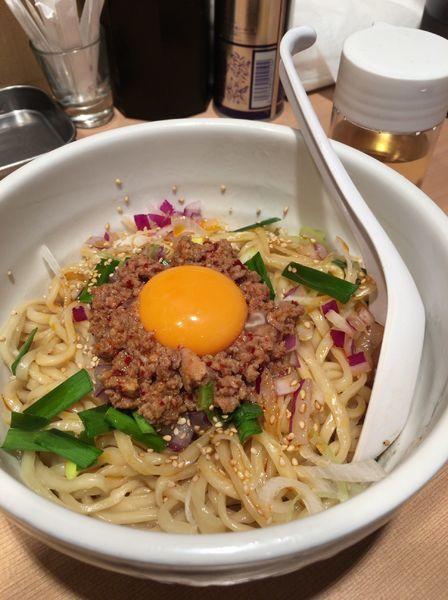「【限定】汁なし担々麺 800円」@中華そば ます田の写真