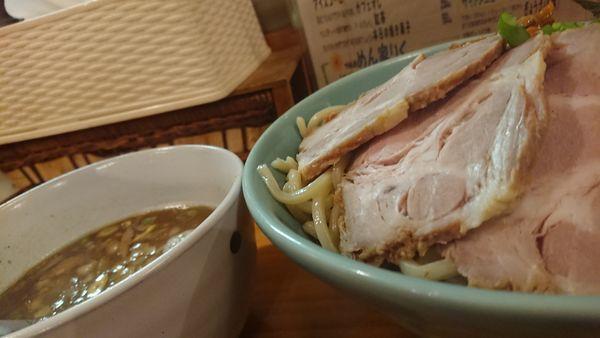 「つけめん」@つけ麺処 めん家りくの写真