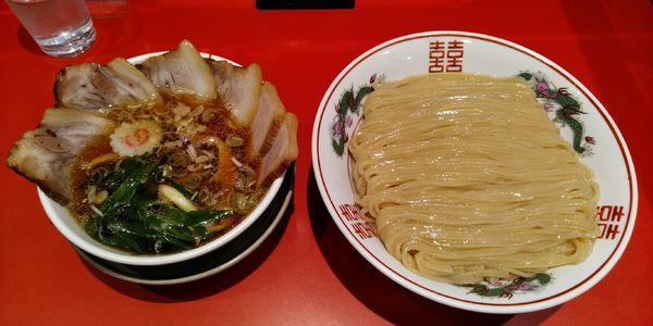 「つけ麺+大盛」@カドヤ食堂 本店の写真