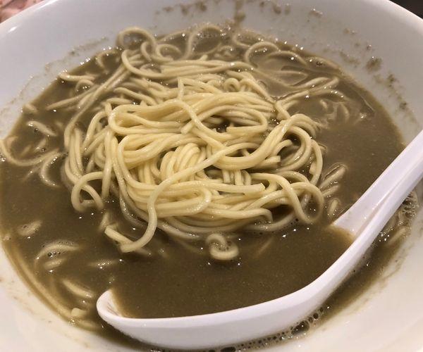 「淡麗煮干ソバ(醤油)」@煮干乱舞 TOKYOの写真