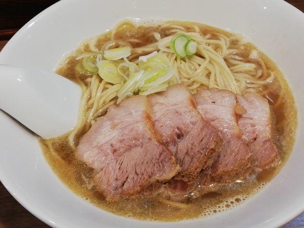 「肉そば 小」@自家製麺 伊藤 浅草店の写真