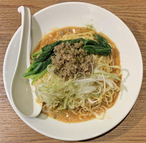 「汁なし担々麺」@らーめん藪づかの写真