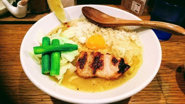 「トリポターナ」@鶏ポタラーメン THANK 大門店の写真