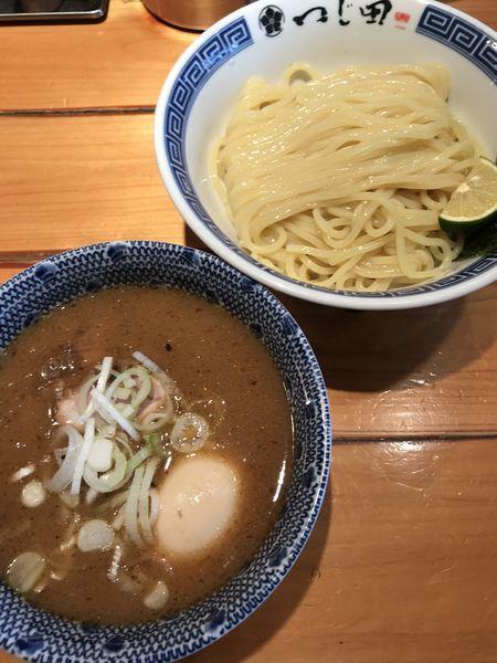 「濃厚特製つけ麺」@つじ田 飯田橋店の写真