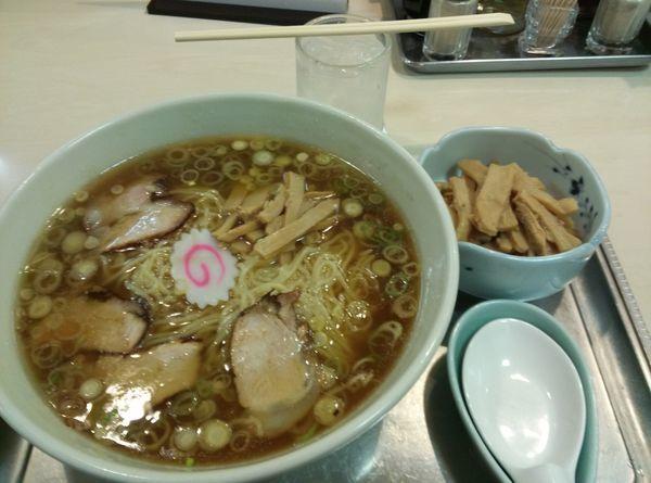 「メンマ付き中華麺」@永福町大勝軒の写真
