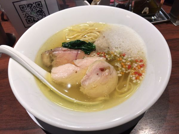 「淡麺(塩)」@NAKAGAWA わずの写真