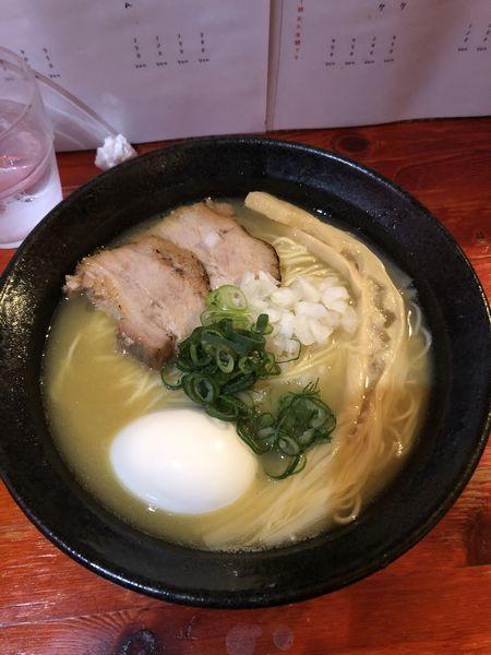 「味玉濃厚鶏ソバ  塩」@コレキヨの写真