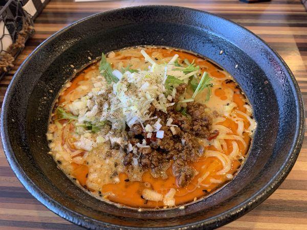 「担々麺(辛3)」@Chinese Dining 胡食 ~kokuu~の写真