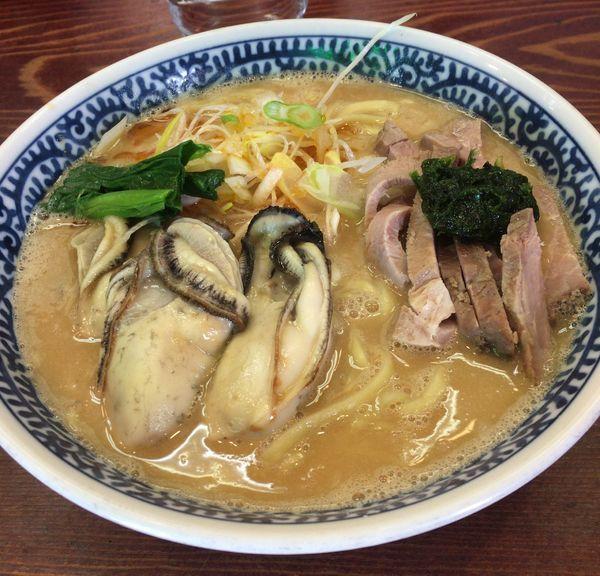 「(special)カキ味噌ラーメン」@良温(Ra-on)の写真