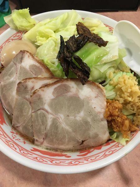 「特製キャベふじ麺【中盛】」@特級豚骨 中華そば湊生の写真