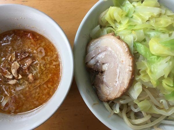 「【限定】背脂味噌つけ麺 900円」@ひかり食堂の写真