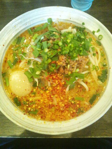 「台湾ラーメン(塩・味玉付き)」@麺屋 GOO ~noodle house~の写真