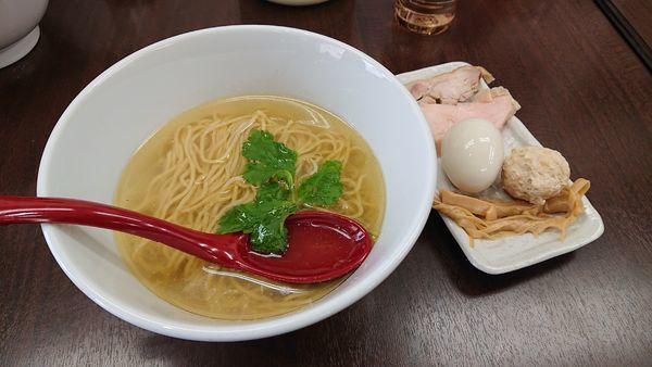 「【チャリティ限定】 絆塩」@麺や 睡蓮の写真