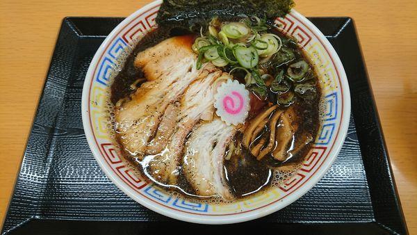 「溜まりBLACK 750円」@麺処 象山屋の写真