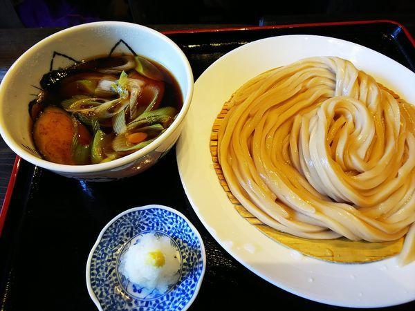 「揚げ茄子うどん(ウルトラ麺)」@自家製うどん うどきちの写真