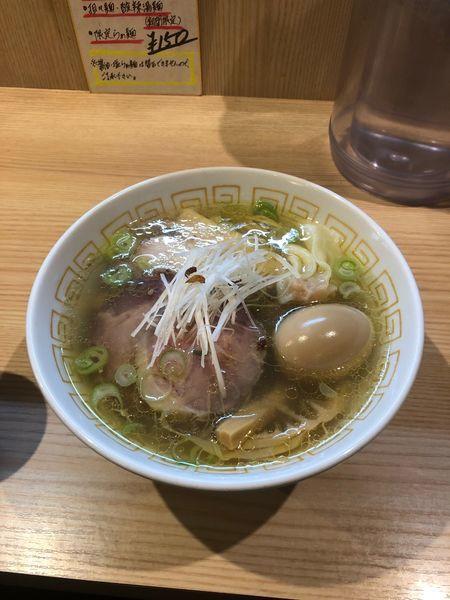 「特製塩らぁめん」@中村麺三郎商店の写真