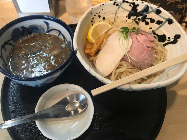 「煮干しつけ麺【900円】」@つけ麺 たけもとの写真