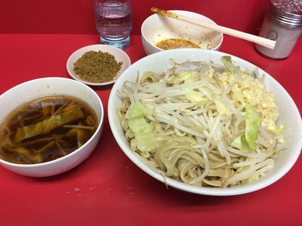 「SS 玉子  カレー  ニンニク」@ラーメン二郎 千住大橋駅前店の写真