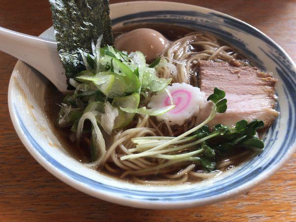 「七つの煮干し中華SOBA」@麺屋 ざくろの写真