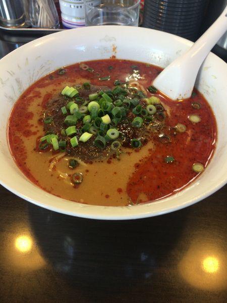 「タンタン麺(1辛)」@らーめん 竜屋の写真