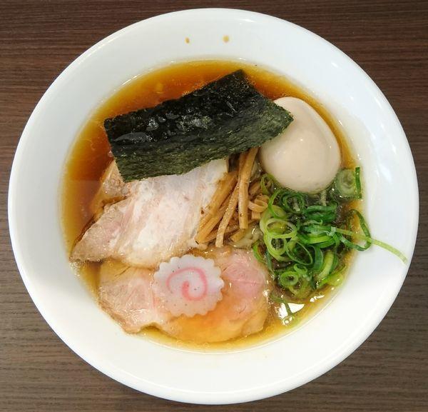 「醤油味玉ら〜めん」@麺や 河野の写真