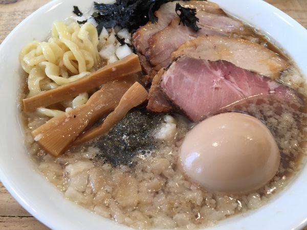 「Swallowらぁ麺 特製(1050円)」@The Noodles & Saloon Kiriyaの写真