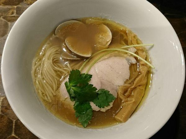 「【限定】蛤そば」@特級鶏蕎麦 龍介の写真