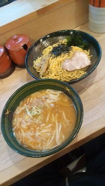 「味噌つけ麺830円」@北海道らーめん 味八の写真
