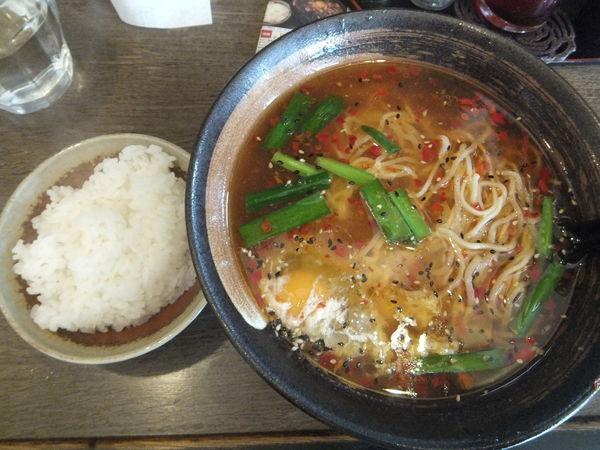 「やみつきタンタン麺850円(ぱどクーポンで600円)」@らーめん 一真堂の写真