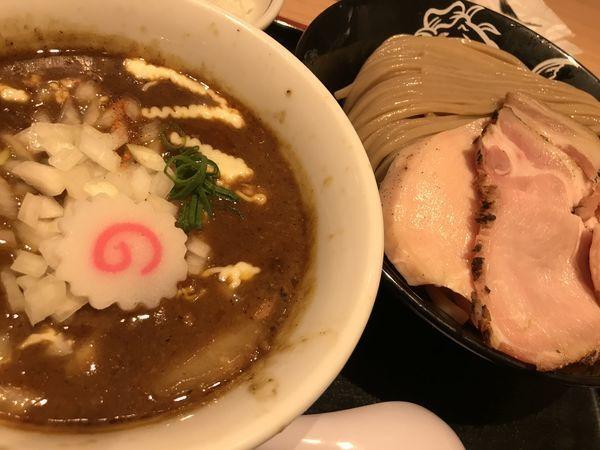 「特製カレーつけ麺 大盛 1,350円 ライス 150円」@松戸富田製麺 ららぽーとTOKYO-BAY店の写真