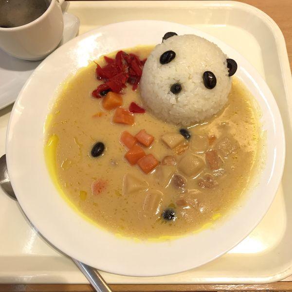 「カレーdeパンダ」@上野グリーンサロンの写真